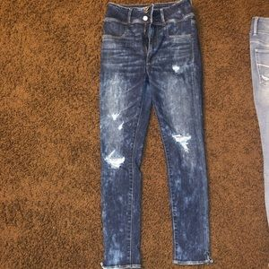 American eagle high waisted super stretch jeans